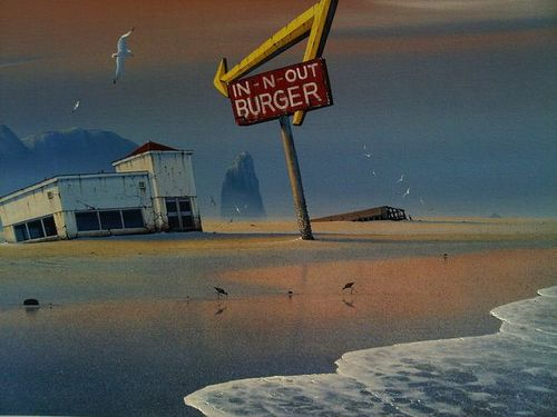 In n Out Burger Desolation