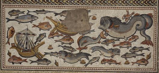 Lod site mosaic circa 300 AD